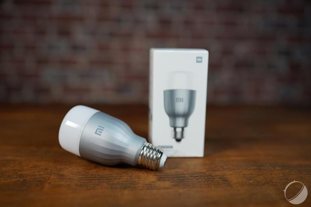 L'ampoule connectée Xiaomi Mi LED Smart Bulb passe à 13 euros l'unité