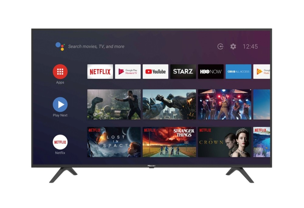 Android TV est de la partie