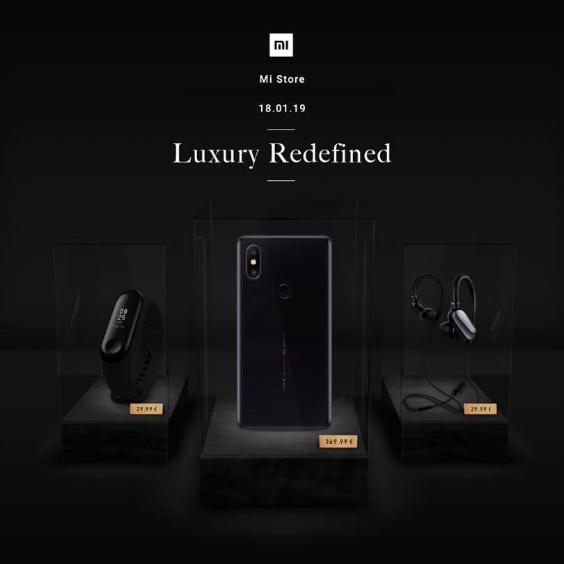 Mi Band3 et Mi Mix2S seront quelques-uns des appareils présents dans la nouvelle boutique Xiaomi des Champs-Élysées.