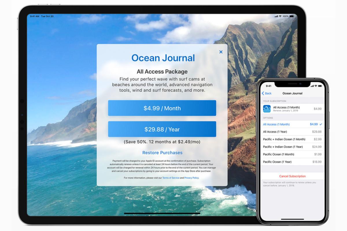 App Store : Apple serre la vis aux développeurs peu scrupuleux sur les abonnements