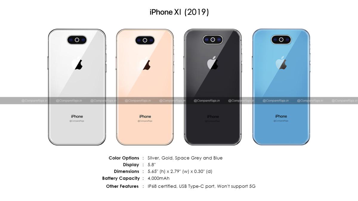 Une source prétend connaître les coloris et une partie de la fiche technique de l'un des iPhone de 2019.