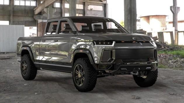Altis XT, jusqu'à 800 km d'autonomie pour ce mastodonte pick-up électrique