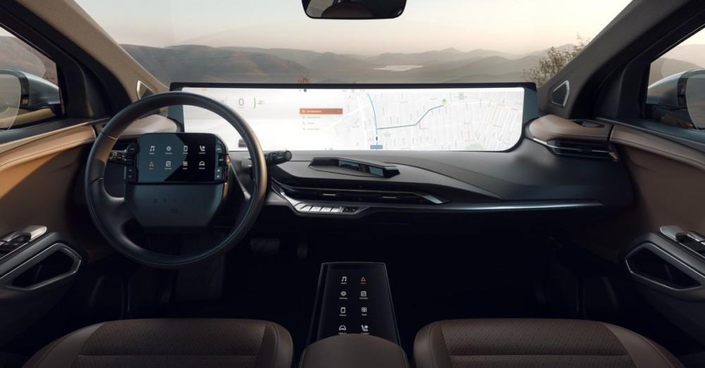 Byton : voici l'incroyable écran de 48 pouces qui équipera les voitures électriques M-Byte et K-Byte