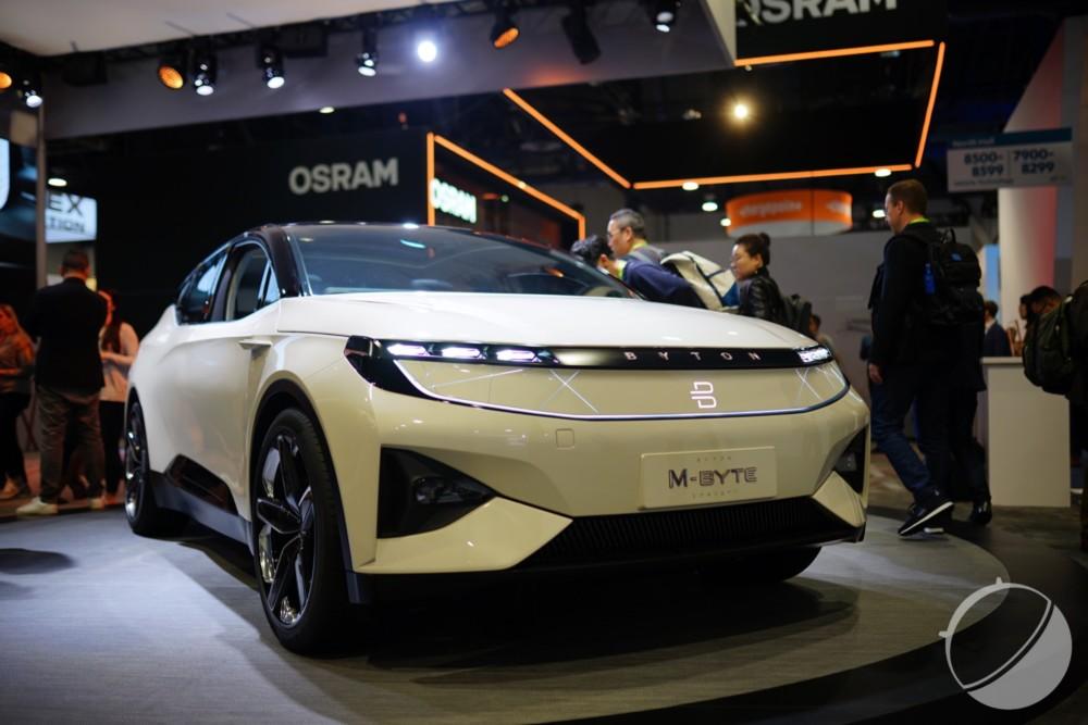 Byton, une start-up automobile prometteuse qui pourrait être rachetée.