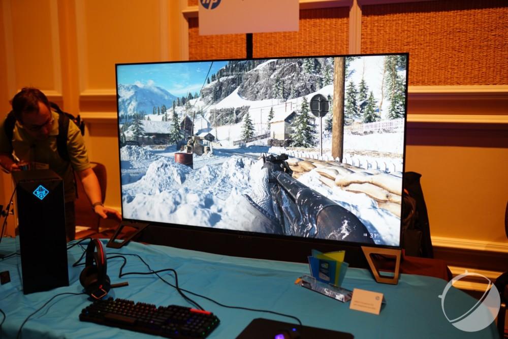 Nous avons vu le HP Omen X Emperium, le moniteur gaming 4K à 5 000 dollars