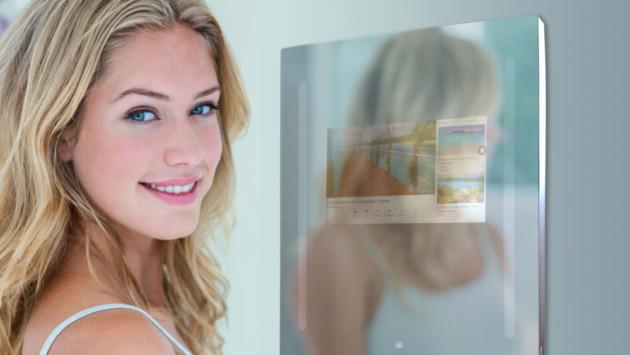 Même les miroirs intègrent Google Assistant au CES 2019