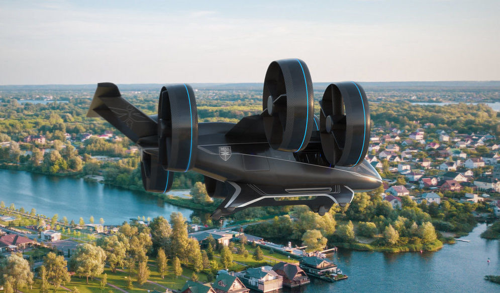 CES 2019 : un premier prototype de taxi volant présenté par Uber
