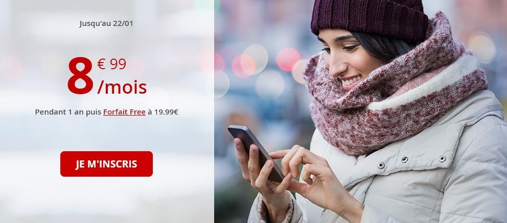 🔥 Bon plan : le forfait Free mobile revient à 60 Go de 4G pour 8,99 euros par mois pendant 1 an
