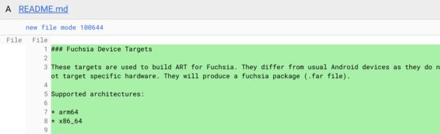 Google Fuchsia sera compatible avec les applications Android