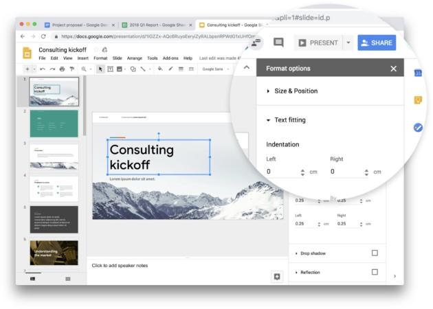 G Suite : Google Docs, Sheets, Slides et Sites passent au Material Design sur le web
