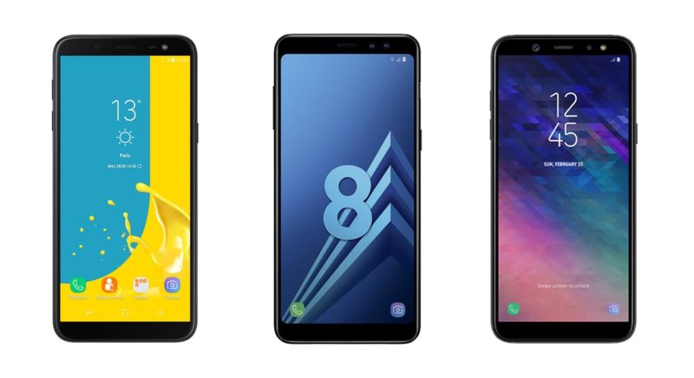 🔥 Soldes 2019 : le Galaxy A8 à 249 euros, le Galaxy A6 à 179 euros et le Galaxy J6 à 149 euros