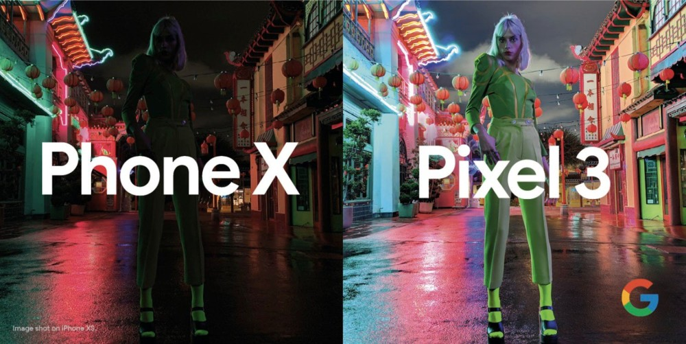Pixel 3 vs iPhone XS : Google compare son mode nuit de façon impressionnante