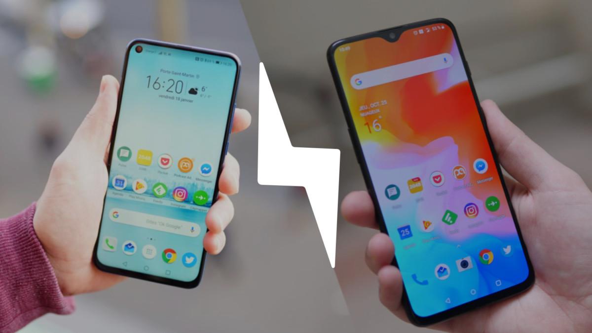 Honor View 20 vs OnePlus 6T : lequel est le meilleur smartphone ? – Comparatif