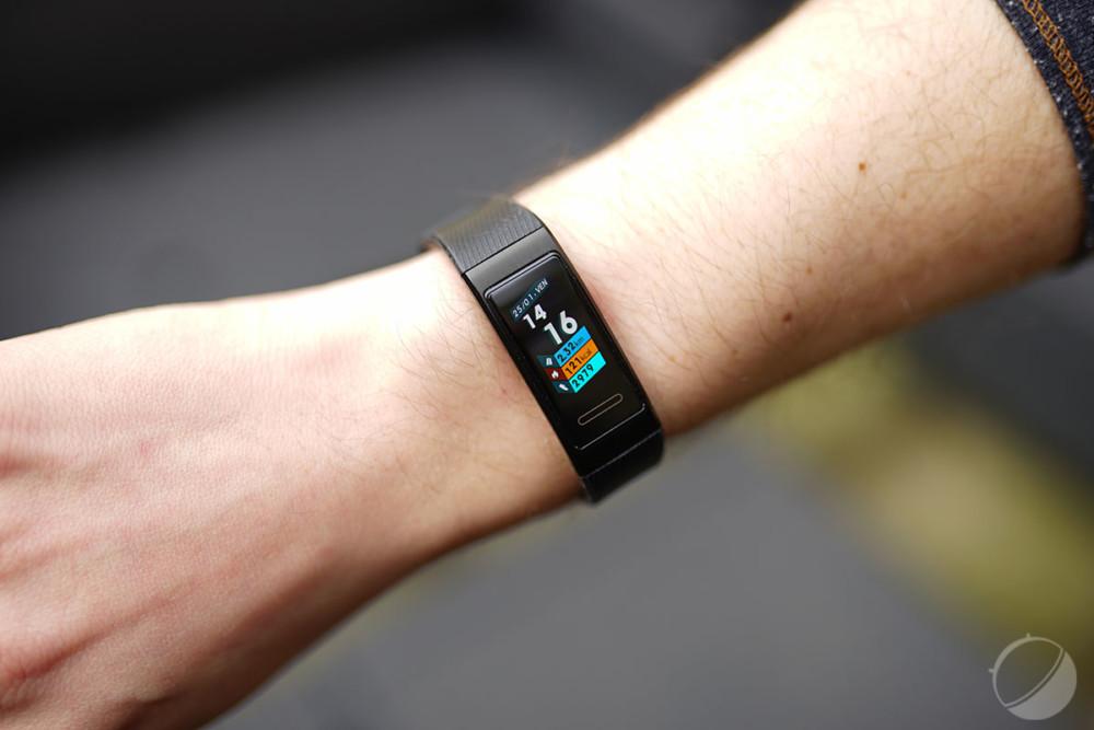 Le bracelet Band3 Pro de Huawei