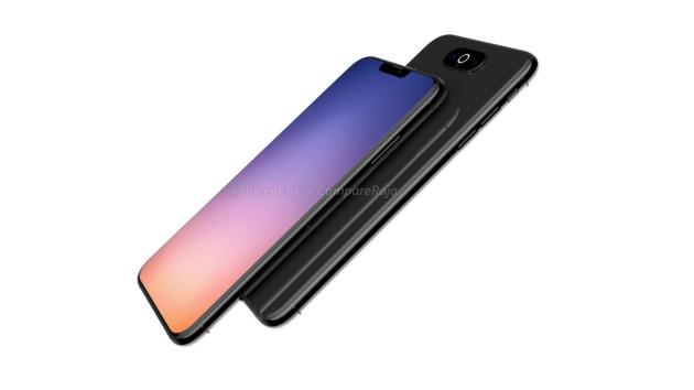 Prototype de l'iPhone XI avec petite encoche et deux appareils au dos