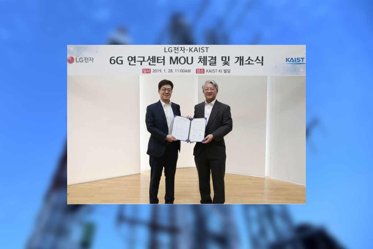 On goûte à peine à la 5G que LG vient déjà nous parler de 6G