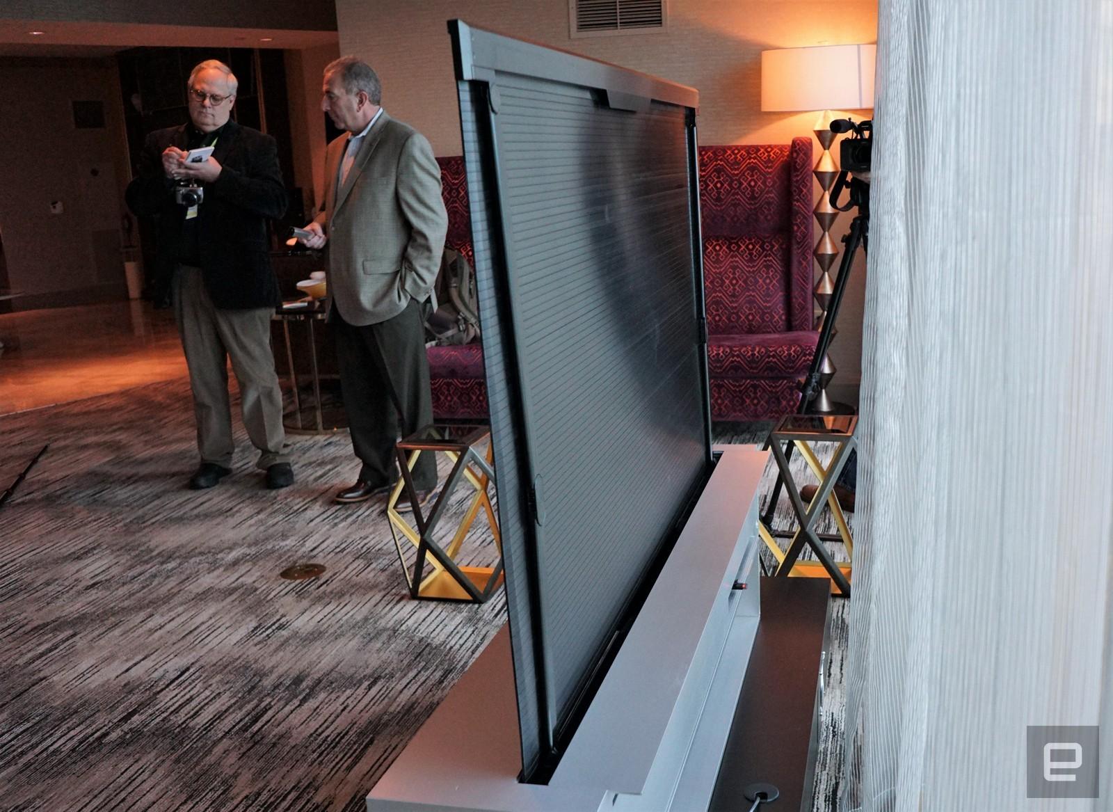 LG Signature Oled TV R, le téléviseur enroulable est bien là !