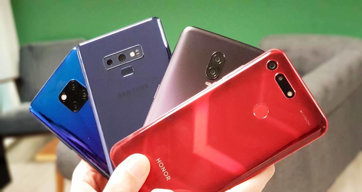 Le nombre de smartphones vendus dans le monde pourrait baisser de 3,1% en 2019