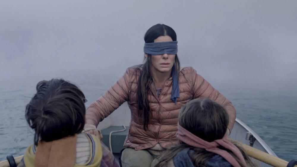 Crédit Image: Sandra Bullock dans Bird Box, un film signé Netflix