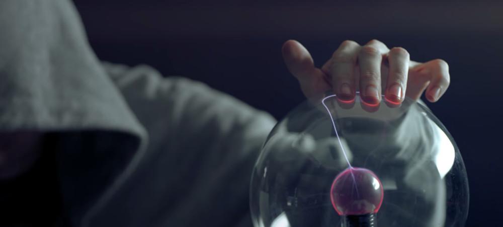 Capture du clip Cymatics de Nigel Stanford