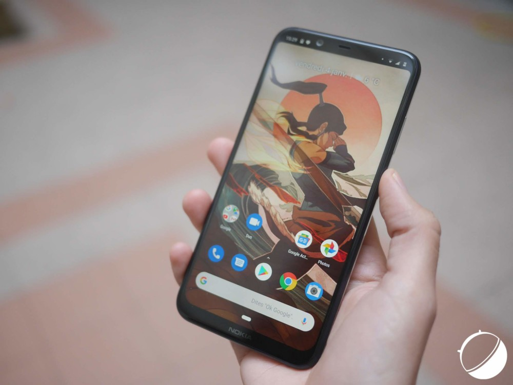 Le Nokia 8.1 sous Android One