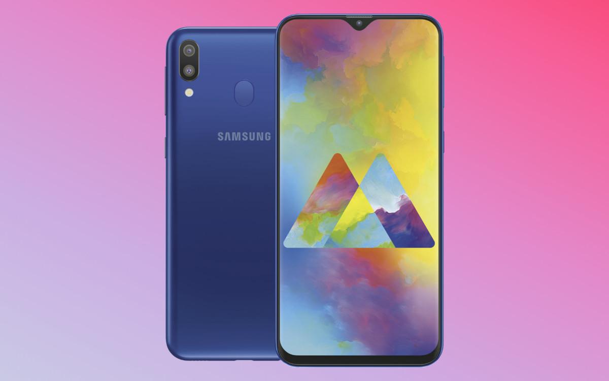 Le Samsung Galaxy M20