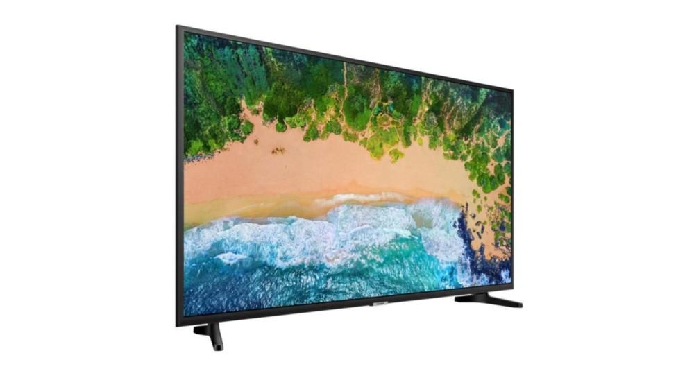 bon plan la tv led samsung de 43 pouces compatible 4k et hdr 10 est 379 euros sur. Black Bedroom Furniture Sets. Home Design Ideas