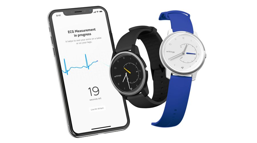 withings d voile la move ecg un lectrocardiogramme dans une montre connect e hybride frandroid. Black Bedroom Furniture Sets. Home Design Ideas