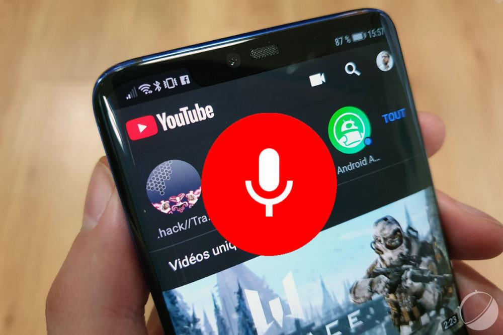 YouTube lance une nouvelle navigation vocale, moins pratique que l'actuelle