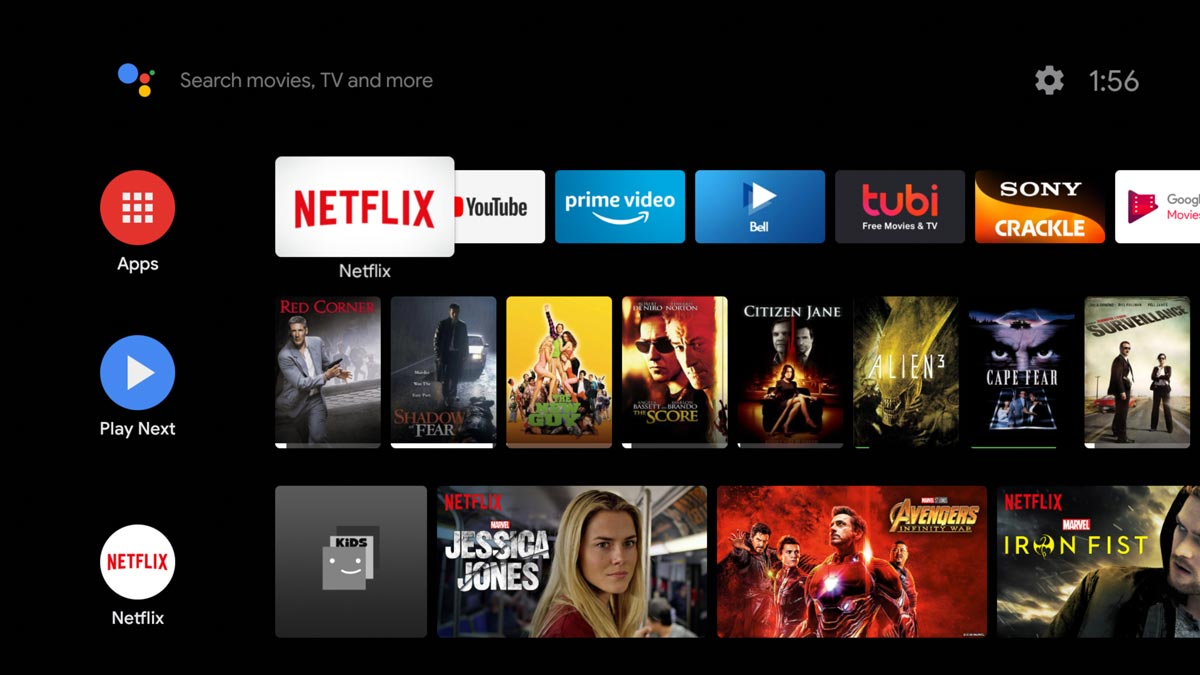 Android TV passe discrètement au Material Theming
