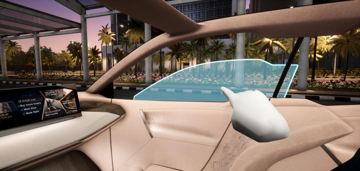 J'ai « conduit » la voiture du futur de BMW au MWC 2019