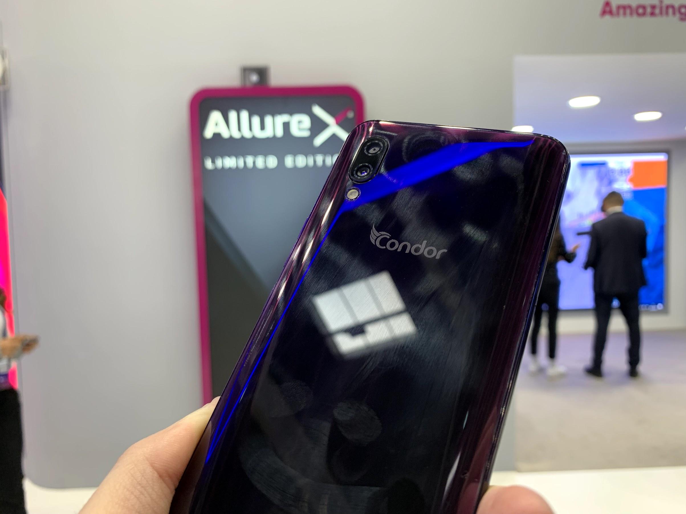 Prise En Main Du Condor Allure X Au Mwc 2019 Un Smartphone Qui A