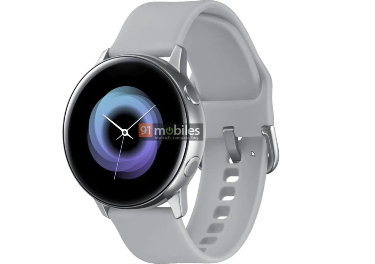 Samsung Galaxy Sport : la montre connectée se dévoile cette fois en noir, bleu et rose