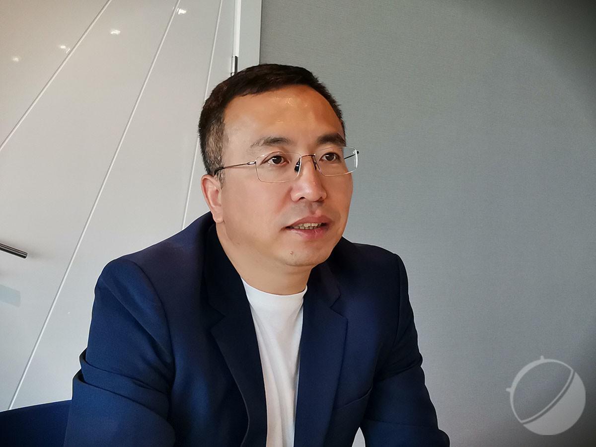 George Zhao, président de Honor, en février 2019