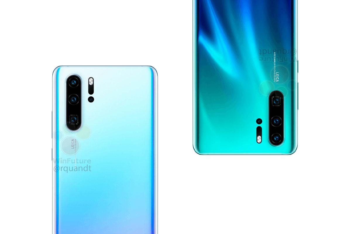 Huawei P30 Pro et P30 : leurs fiches techniques presque complètes sont en fuite