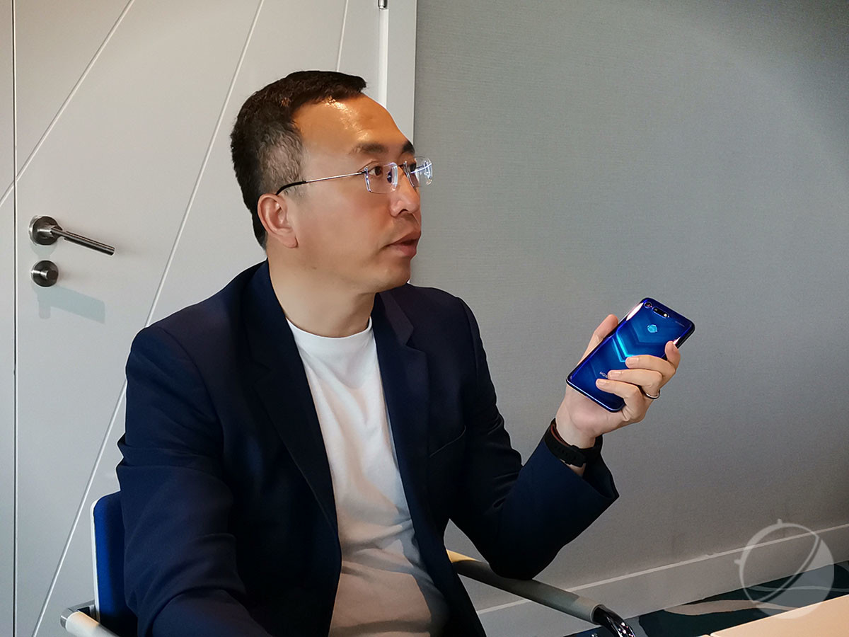 George Zhao, président de Honor
