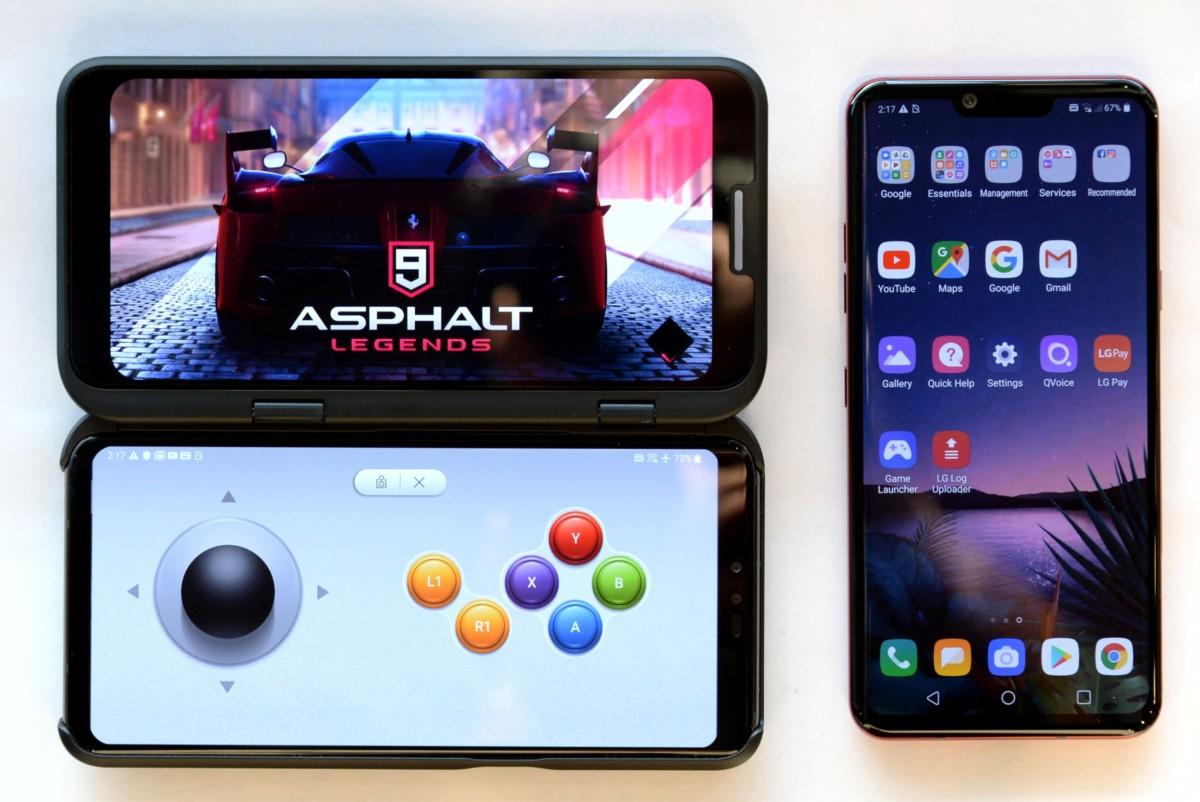 LG prépare un nouveau smartphone pliable… sans écran pliable