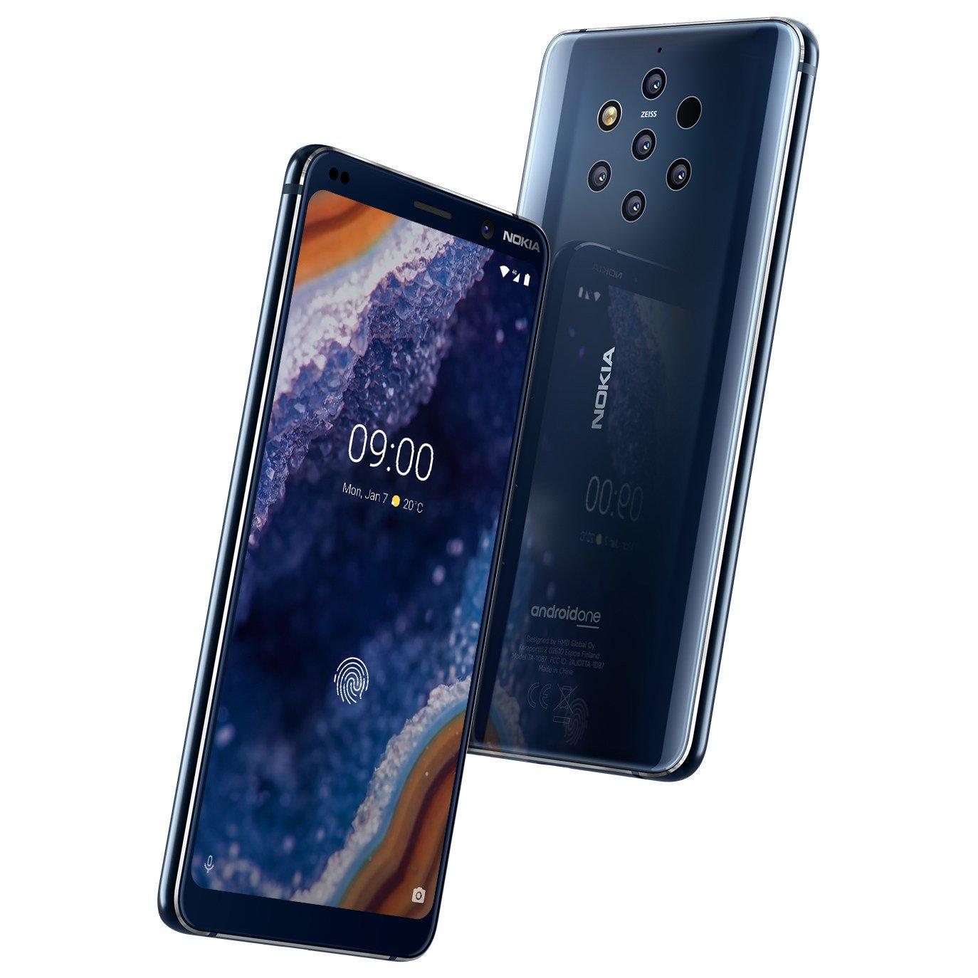 Nokia 9 Pureview : voici des images presse haute définition publiées avant son annonce officielle