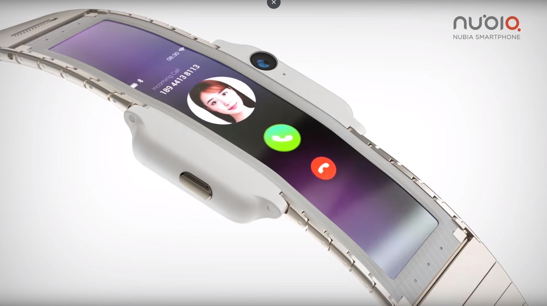 Nubia Alpha : smartphone ou montre connectée ?