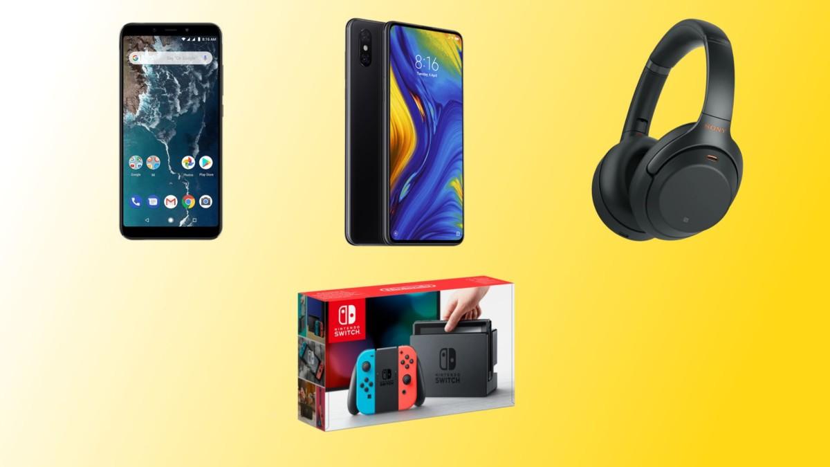 Casque Sony 1000XM3 à 254,99 €, Xiaomi Mi Mix 3 à 423,99 € et Nintendo Switch à 264,99 € sur Rakuten