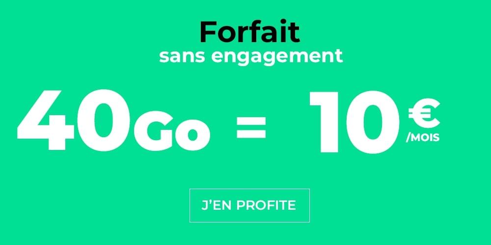🔥 Bon plan : des forfaits mobiles 4G+ avec 40 et 60 Go de data à moins de 15 euros