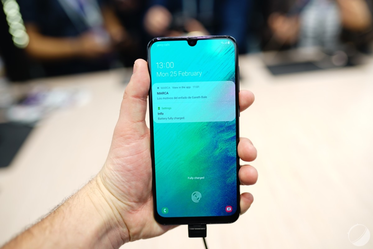 Le Samsung Galaxy A50, pour illustration