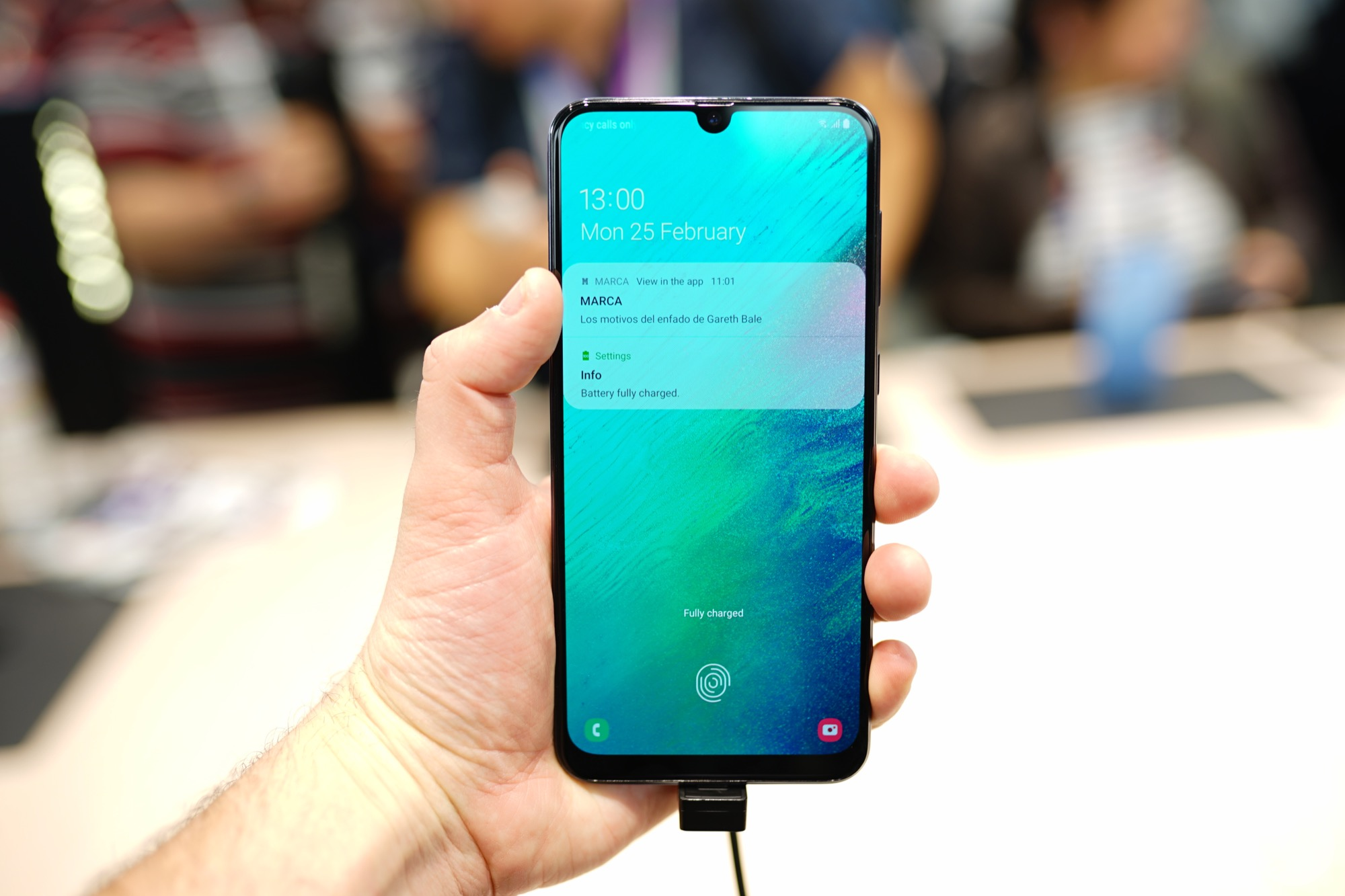 Samsung Galaxy A80 officiel
