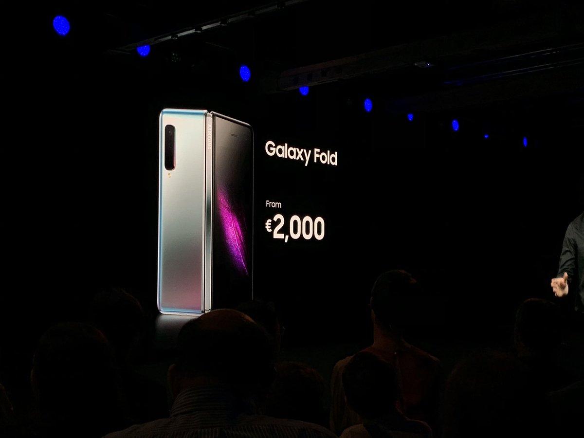 Samsung Galaxy Fold officialisé : design, fiche technique, prix et date de sortie du smartphone