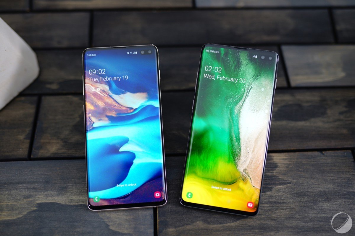 Le Galaxy S10 et le Galaxy S10+
