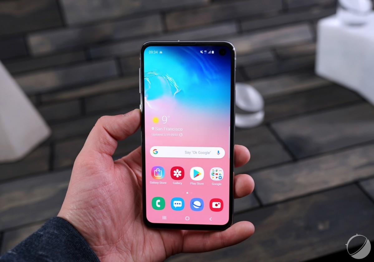 Le Samsung Galaxy S10e