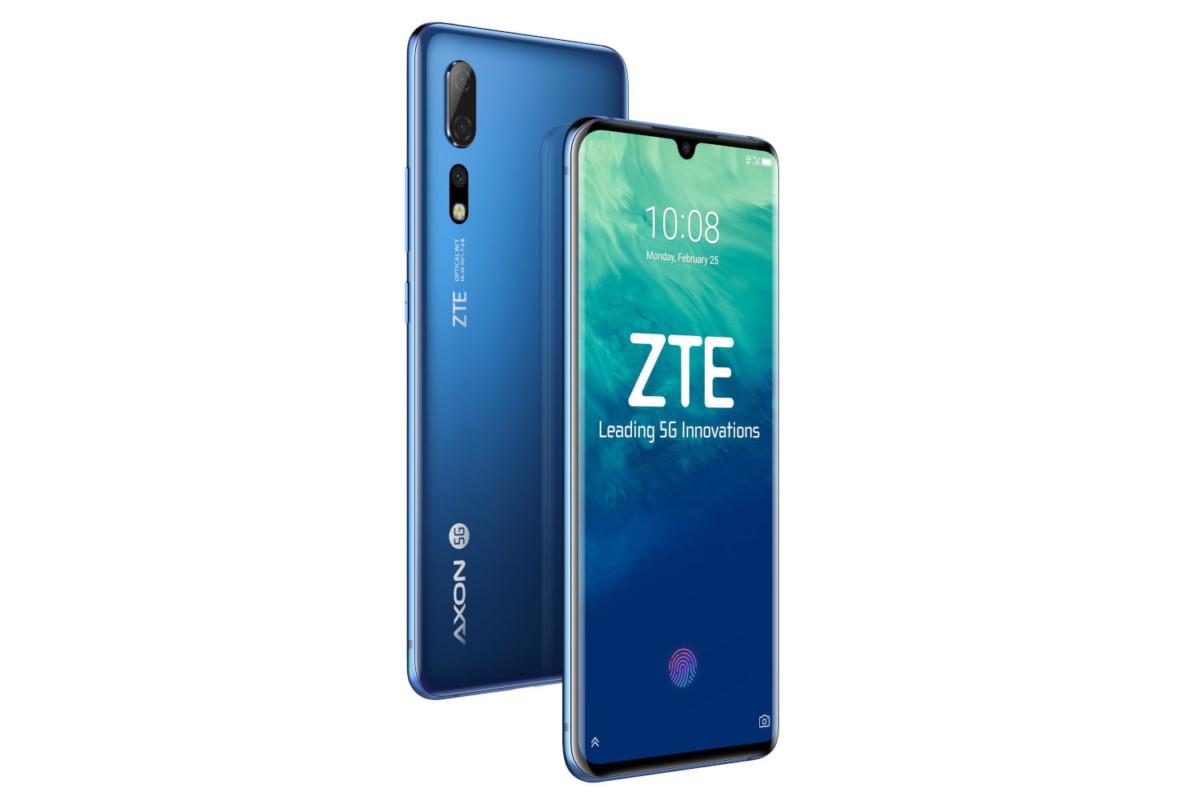 Le ZTE Axon 10 Pro 5G