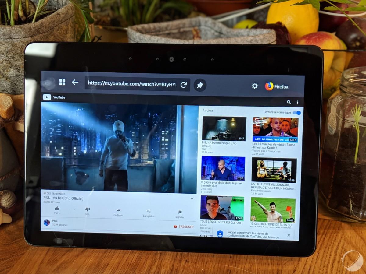 YouTube fonctionne sur le navigateur, mais pas Netflix