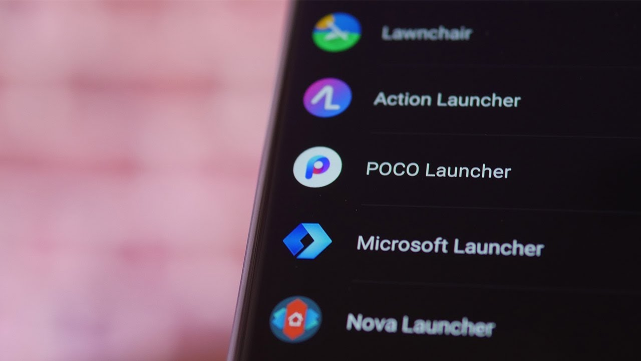Liste de launchers alternatifs