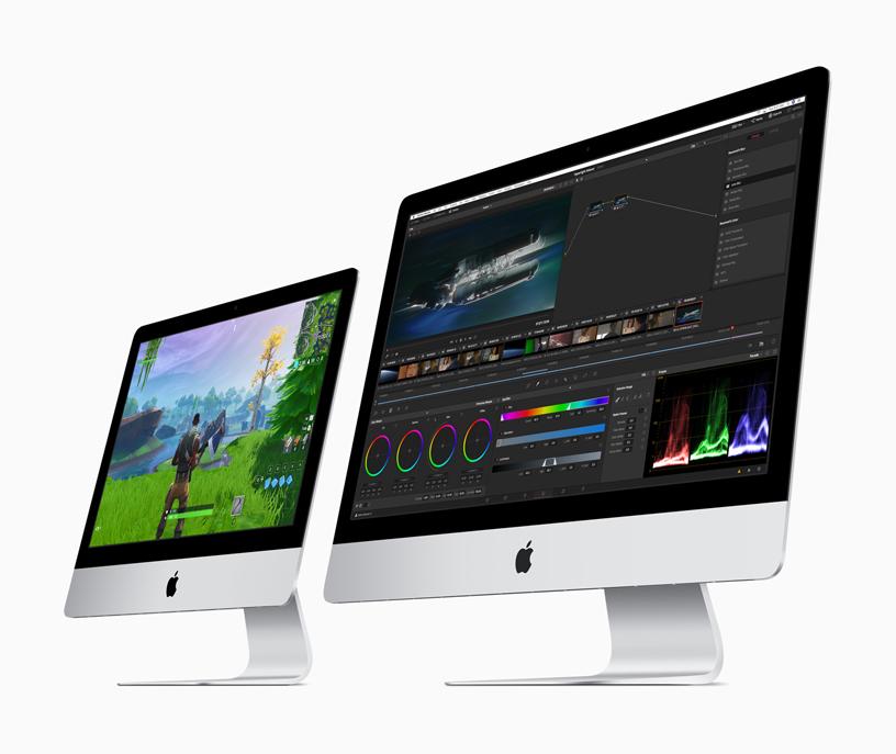 Double surprise : après ses iPad, Apple introduit de nouveaux iMac aux performances améliorées
